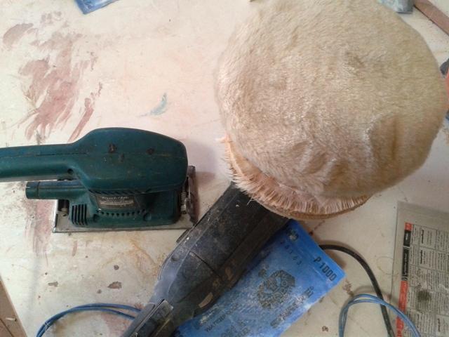 سمباده کاری , عکس فرز ( دستگاه سمباده ) و لرزون رنگ کاری