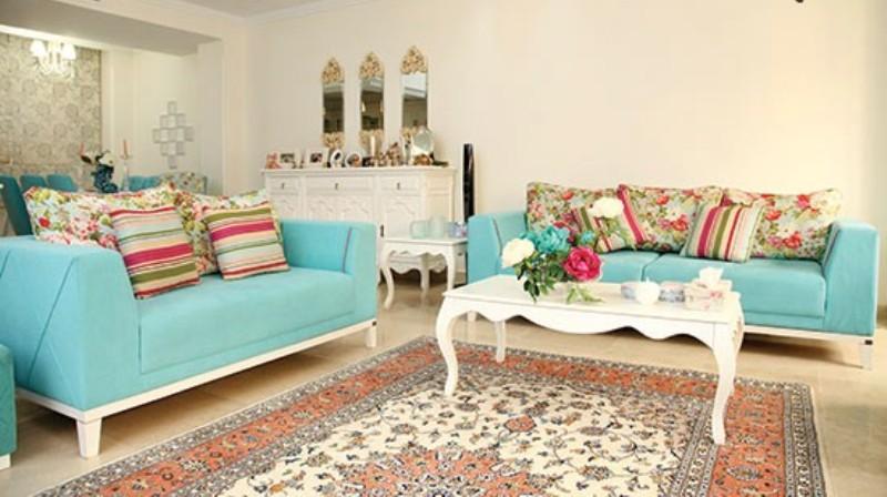 استفاده از رنگ آبی در چیدمان و دکوراسیون خانه