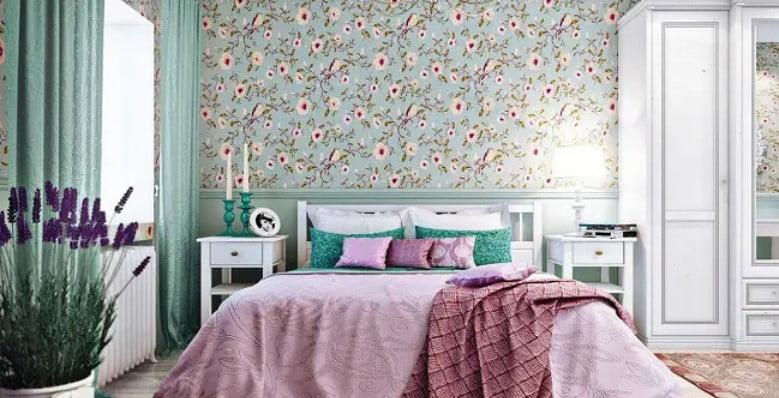 رنگ اتاق خواب اصلی
