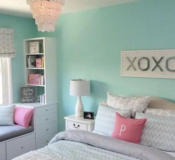رنگ اتاق خواب دختران