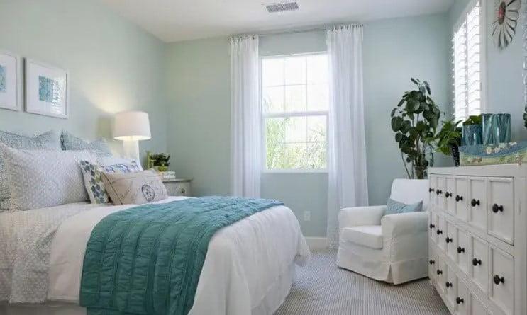 رنگ اتاق خواب روشن