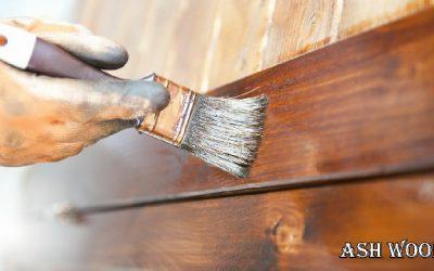 انواع رنگ درب چوبی