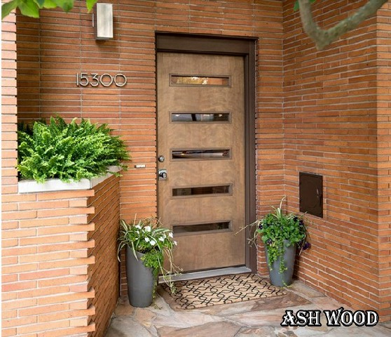 رنگ درب چوبی ورودی
