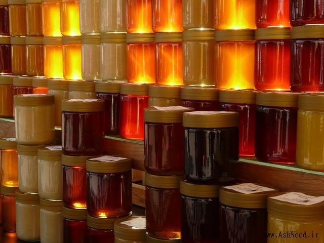 رنگ عسلی , آموزش ساخت رنگ عسلی برای چوب