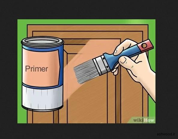 رنگ آمیزی و تعمیر رنگ روکش چوب