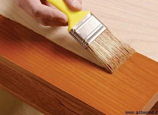 آموزش رنگ کاری چوب از پایه ( قسمت 1 )