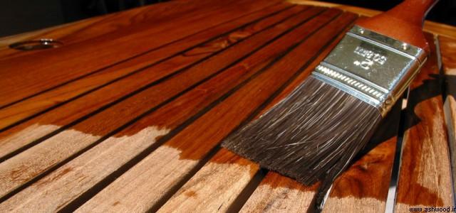آموزش رنگ روی چوب , شاپان , سیلر و کیلر و پلی استر مخصوص چوب