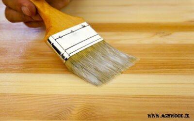 آموزش گام به گام رنگ آمیزی چوب