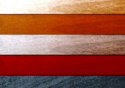 ایده های رنگارنگ در دکوراسیون چوبی