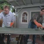 روش بازیابی درب چوبی