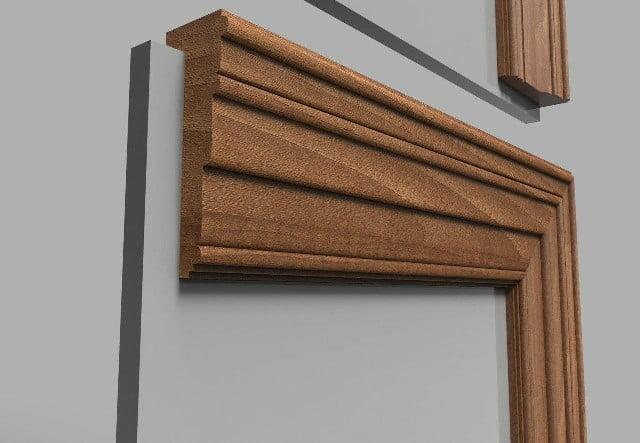 روکوب و چهارچوب درب چوبی , مدل قاب درب