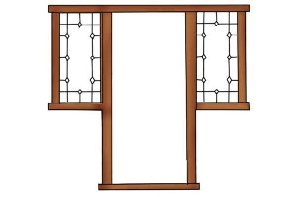 روکوب چهارچوب , نصب روکوب چهارچوب و ساخت درب