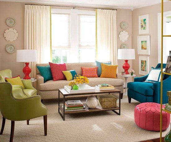 زيبايي منزل با معجزه رنگ ها