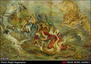 زیباترین تصاویر مینیاتوری ایرانی
