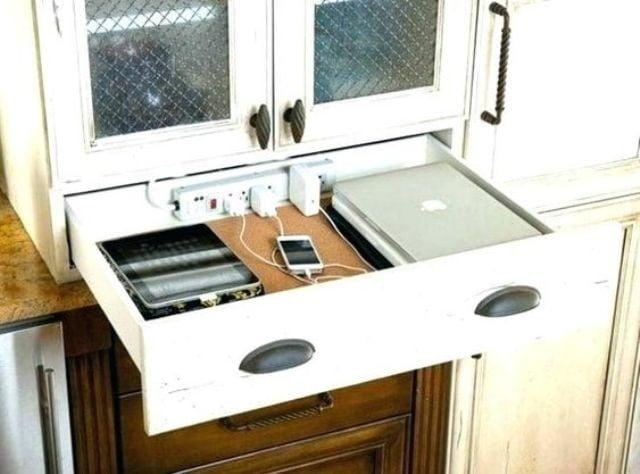ساخت ایستگاه شارژ در آشپزخانه
