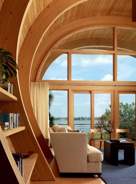 ساخت خانه های چوبی