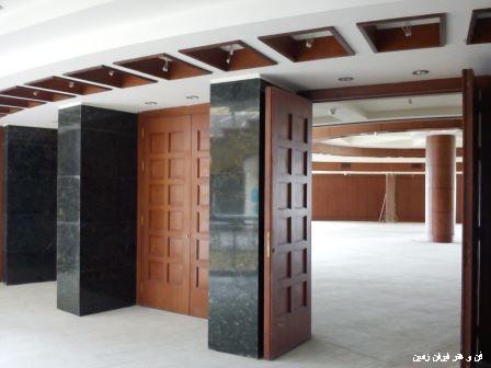 ساخت درب هتل شیراز