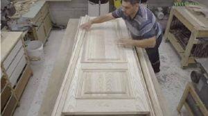ساخت درب تمام چوب, چوب ون