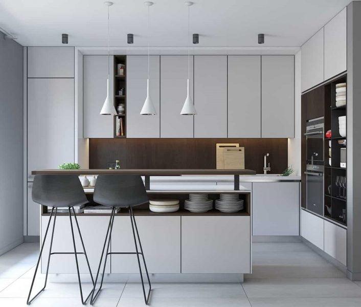 سبک آشپزخانه مدرن