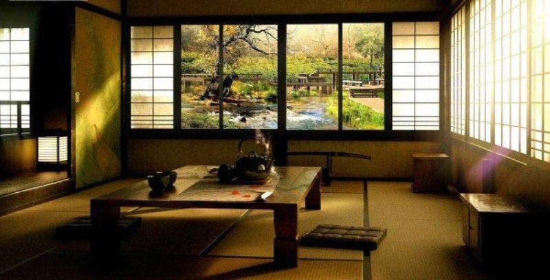 طراحی داخلی خاص به سبک ژاپنی
