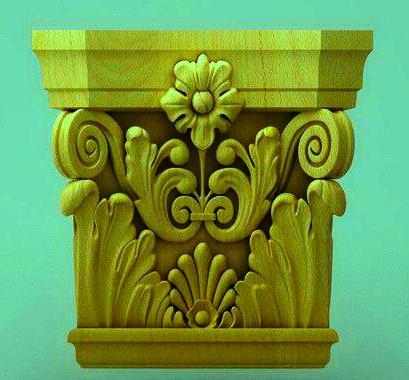 ابزار تزئینی پیش ساخته چوب , رزین و ام دی اف