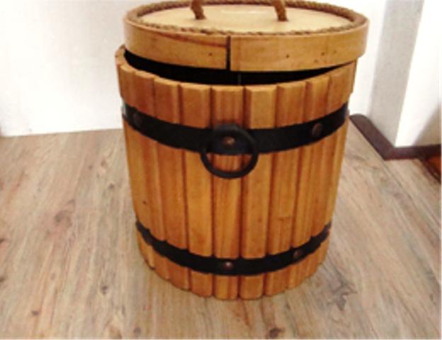 ساخت بشکه چوبی