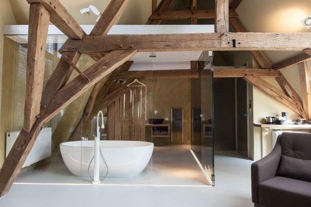 سقف های چوبی برای اتاق خواب