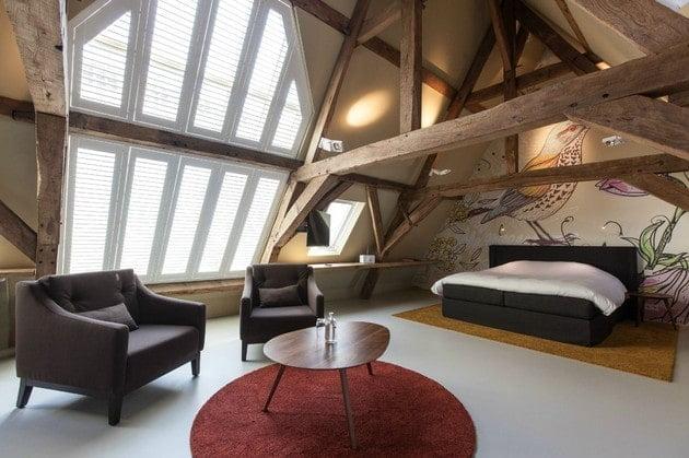 سقف های چوبی روستایی