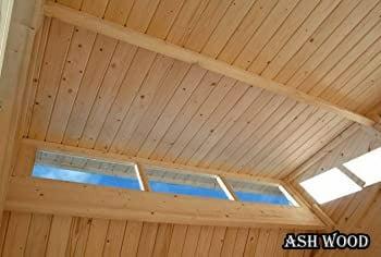 قیمت سقف چوبی, انواع سقف چوبی