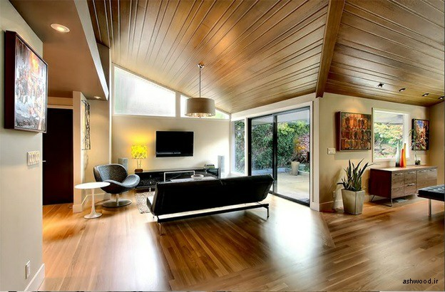 ایده های جالب سقف کاذب اتاق نشیمن