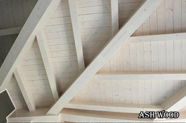 انواع سقف , سقف چوبی , سقف کاذب