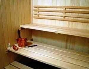 ساخت سونا , سونای خشک , نقشه سونا ، پلان سکو و تخت سونای خشک