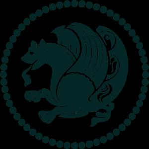 سیمرغ، نشان شاهنشاهی ساسانی