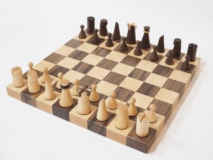سخت میز شطرنج , شطرنج چوبی