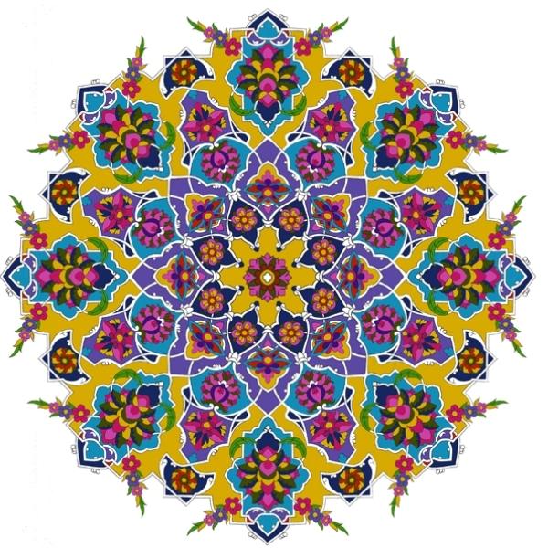 با هنر «شمسه» آشنا شویم