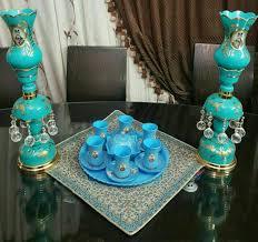 شمعدان لاله عباسی برای اتاق نشیمن سنتی
