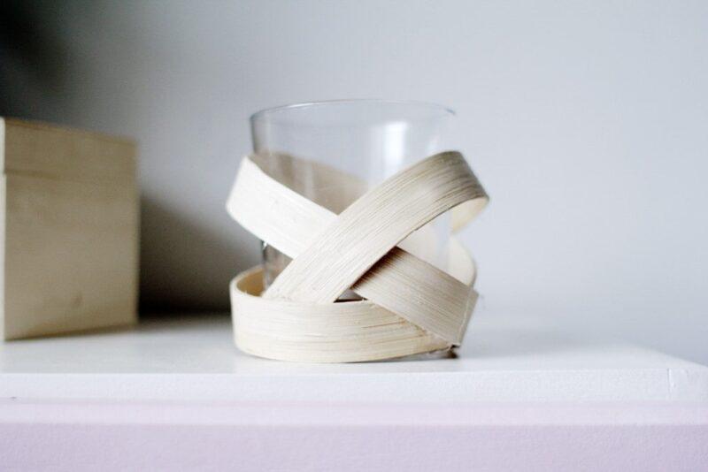 شمع نواری چوبی دست ساز