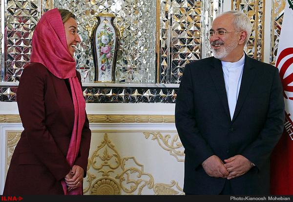 اخبار مذاکرات ظریف، کری و موگرینی؛ نامزدهای دریافت جایزه صلح نوبل