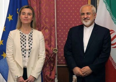 ظریف، کری و موگرینی؛ نامزدهای دریافت جایزه صلح نوبل