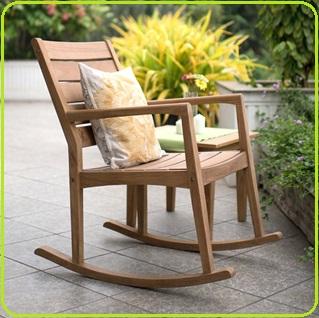 معرفی انواع صندلی راک , صندلی چوبی