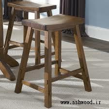طراحی و ساخت صندلی میز بار سفارشی و تمام چوب, صندلی اپن در انواع