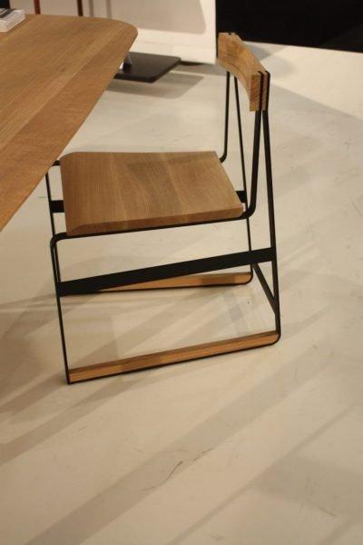 صندلی پیمونت در چوب بلوط سفید