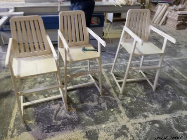 ساخت صندلی کودک , صندلی میز ناهارخوری کودک