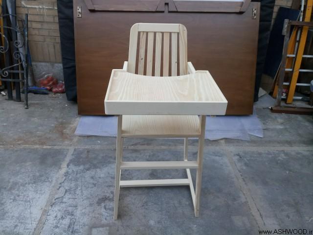 ساخت صندلی کودک , صندلی میز ناهارخوری کودک نوپا, صندلی کودک چوبی