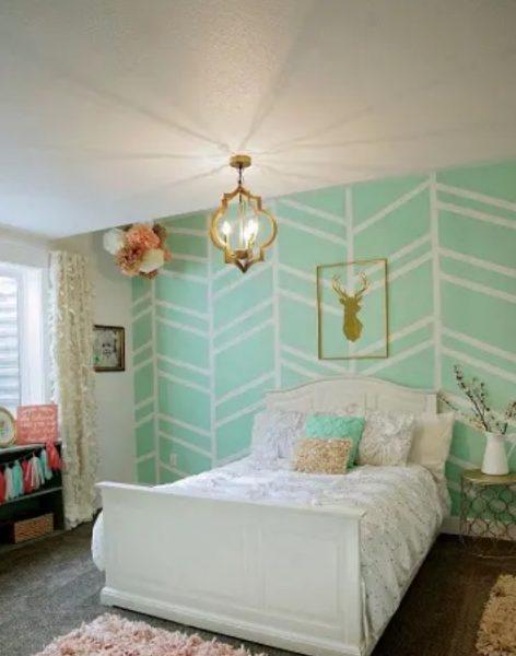 طراحی آب دیوار اتاق خواب