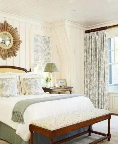 طراحی آنتیک دیوار اتاق خواب