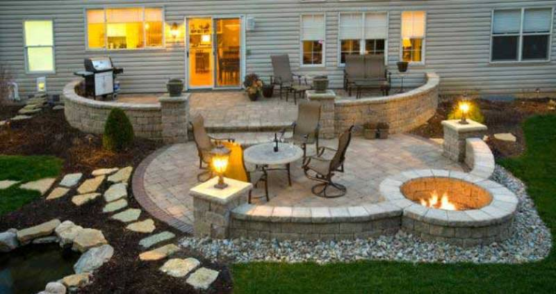 نکته های طلایی طراحی حیاط