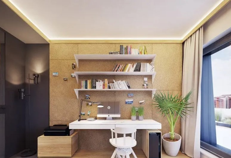 طراحی داخلی اتاق اداری خانگی