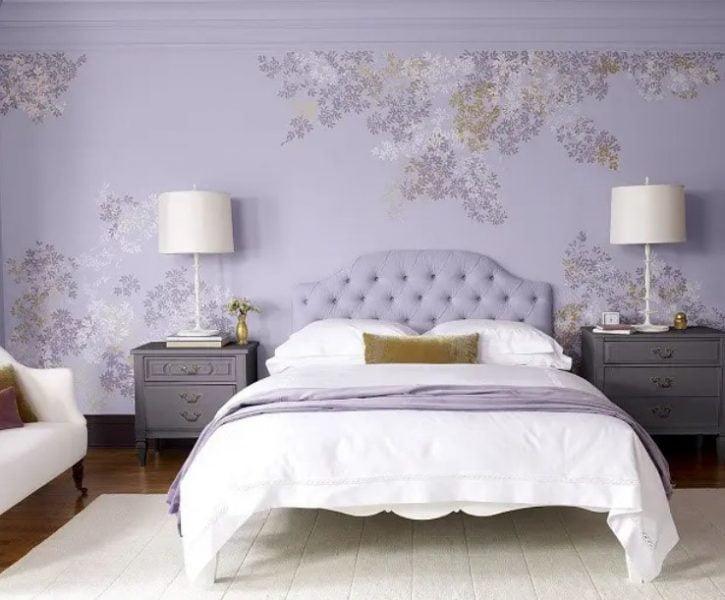 طراحی داخلی اتاق خواب دیوار