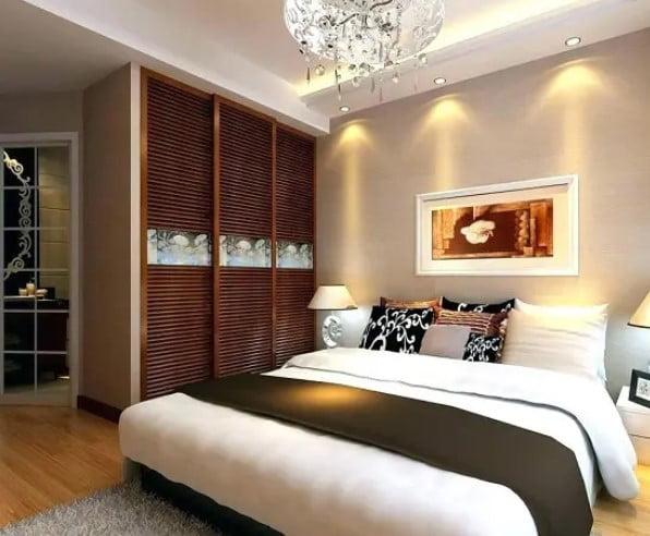 طراحی داخلی اتاق خواب زن و شوهر